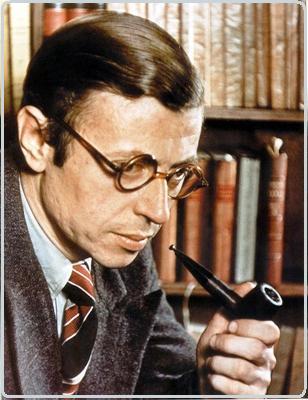 jean-paul-sartre- جمله زیبا و زندگینامه ژان پل سارتر